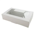1# White Window Cookie Box - 10 Pack