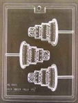 Celebration Cake Pop 40 Chocolate Mold - Ecao1163