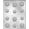 Snowflakes Chocolate Mold