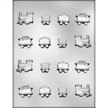 Toy Train Chocolate Mold