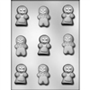 "2"" Gingerbread People Mold"