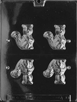 3D Squirrel Chocolate Mold - LPA090