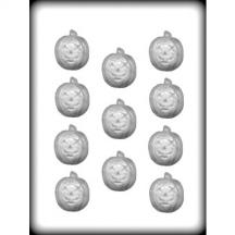 "1-/12"" Jack O'Lantern Hard Candy Mold"