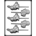 Rabbit and Duck Sucker Hard Candy Mold