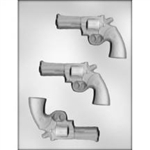 "4-3/8"" Pistol Chocolate Mold"