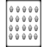 "1-1/4"" Santa Hard Candy Mold"