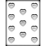 Filigree Heart Hard Candy Mold