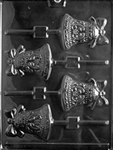 Bell Lolly Chocolate Mold
