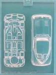 3D Split Rear Window Coupe Mold