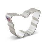 "3-3/8"" Butterfly Shaped Cookie Cutter"