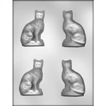 "3-1/8"" 3D Cat Chocolate Mold"