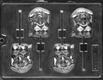 Busty Lady Lollipop Chocolate Mold adult stripper playboy bunny bachelor party XX531