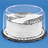 "8"" Round Clear Plastic Cake Box packaging birthday anniversary"