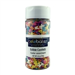 Mixed Easter Edible Confetti Candy Sprinkles spring animal