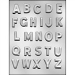 "1-1/4"" Alphabet Chocolate Mold"