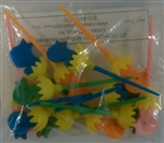 Chick in Egg Cupcake Picks - 12 Count