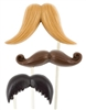 Mustaches Pops Chocolate Mold