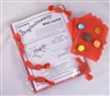 Red Confectionery Wax Paper - 250 Coiunt