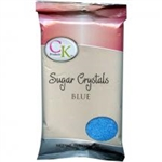 Blue Sugar Crystals - 1 Pound