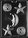 Celestial Assortment Chocolate Mold