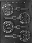 100 Sucker Chocolate Mold