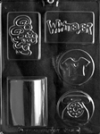 Cool Soap Bar & Loaf Chocolate Mold