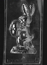 3D Jumbo Bunny with Egg Chocolate Mold - 2 of 2