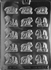 Animal Crackers Chocolate Mold A007 children baby