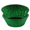 Green Foil Baking Cups - 500 Count Pack