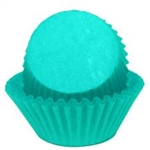 Teal Standard Size Paper Baking Cups - 100 Pack