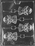 "Angel Lolly 3-3/4"" Chocolate Mold"