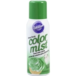 Green Color Mist Food Spray