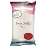 Red Sugar Crystals - 1 Pound