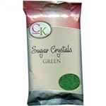Green Sugar Crystals - 1 Pound