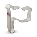 "4-3/8"" Flag Metal Cookie Cutter"