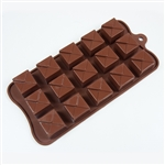 Tiered Square Silicone Candy Mold chocolate treat dessert fat daddio
