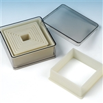 Nylon Square Pastry / Cookie Cutter Set
