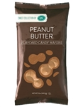 Peanut Butter Flavored Candy Wafers - 12 Ounce Bag