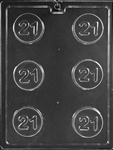 21 Sandwich Cookie Chocolate Mold L043 adult
