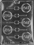 """I'm 5"" Lollipop Chocolate Mold"