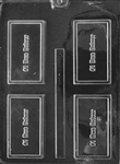 #1 Bus Driver Card Chocolate Mold
