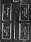 It's Twins Card Chocolate Mold