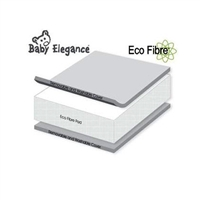 Eco Fibre Crib Mattress 38 x 89 x 5 cms
