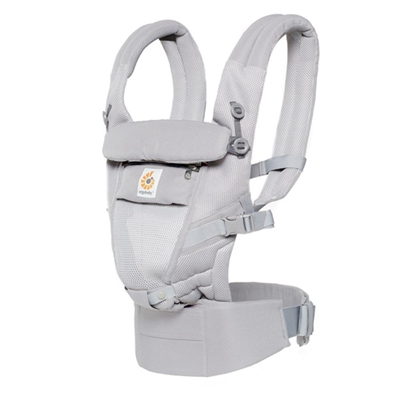 Ergobaby 3 Position Adapt Baby Carrier Pearl Grey