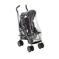 PVC RAINCOVER RAIN PRAM PUSHCHAIR GRACO QUATRO TRAVEL SYSTEM ZIP ACCESS