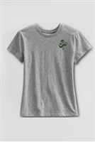 Lands' End Girl's Short Sleeve Gym Shirt