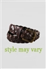 Lands' End Boy's Brown Braided Belt
