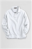Lands' End Polo Shirt - Long Sleeve, White Mesh