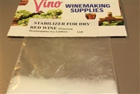 Stabilizer for Dry Wine