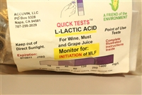 LACTIC ACID (5 TEST KIT)
